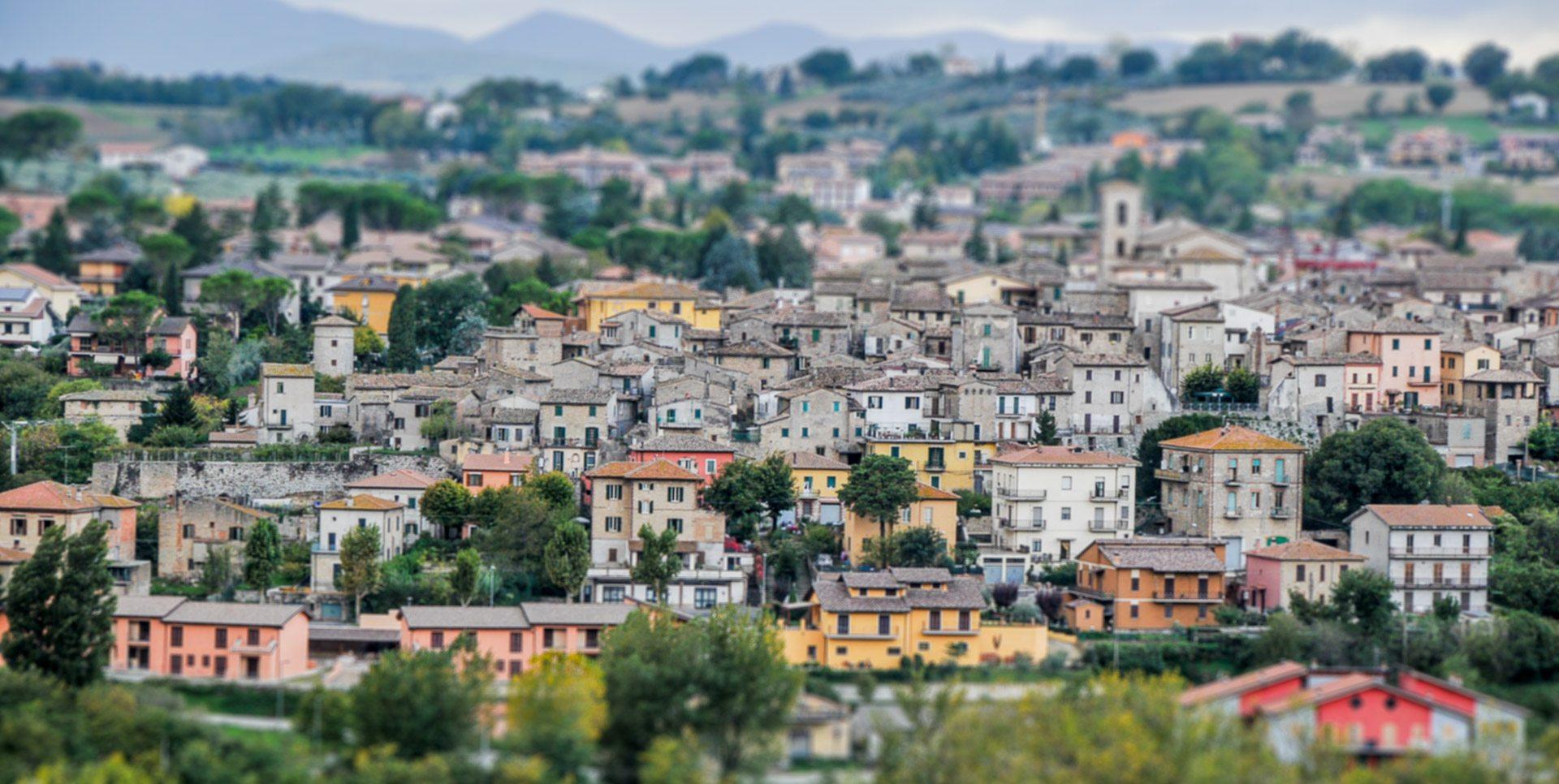 Acquasparta Umbria Italy